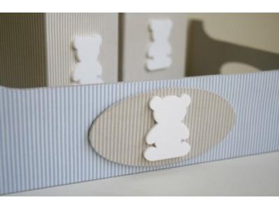 Ursinho aplique - PCT c/ 10 peças