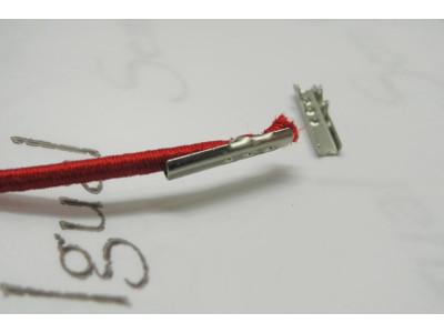 Terminal de elástico 15mm pct c/ 200 unidades niquelado