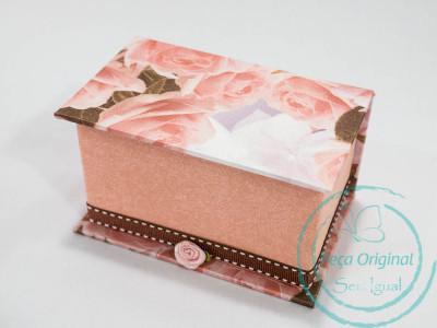 Caixa para 2 potinhos de doces (E-book) - Pacote c/ 8 - KIT