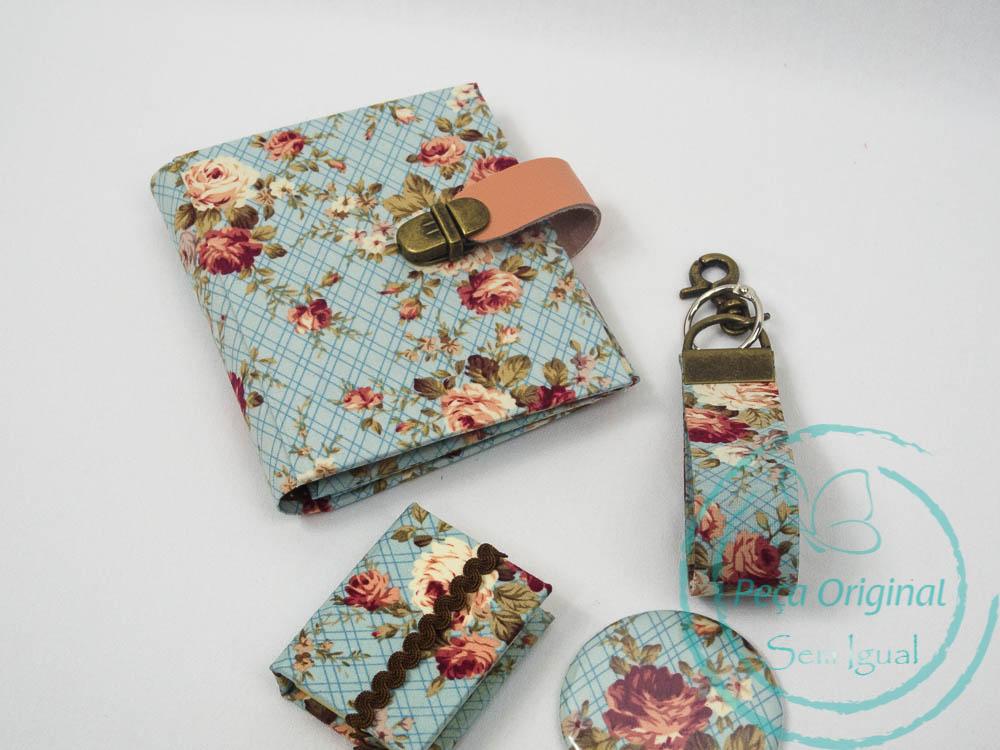 0c3ab9f57 Carteira Feminina em Cartonagem Pequena - A Original - Kit Pacote ...