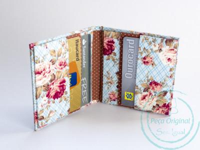 Carteira Porta Cartões - Kit c/ 12